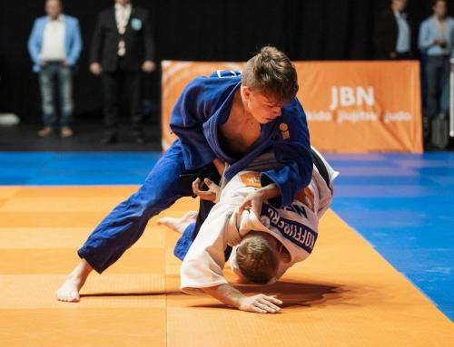 Zilver en goud voor SJO judoka's op NK judo