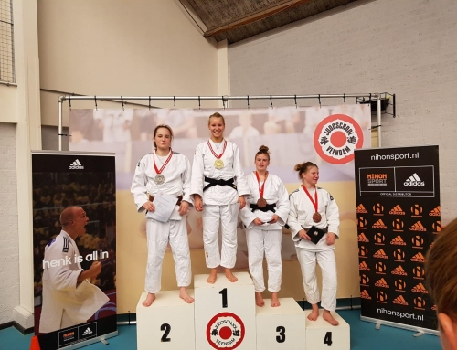 SJO op podium in Veendam